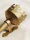 Golden Brass Mashal (Set of 2) (L:20.3cm, W:3.5 cm)