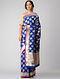 Blue Benarasi Cut-work Silk Saree