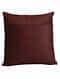 Rooga Multicolored Handmade Velvet Cushion Cover (18in x 18in)