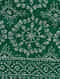 Green-Ivory Sozni-embroidered Pashmina Cashmere Shawl