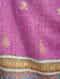 Purple Sozni Embroidered Pashmina Stole
