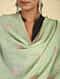 Green Sozni Embroidered Pashmina Stole