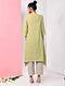 Green Natural-dyed Handloom Cotton Kurta