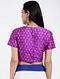 Pink Handloom Silk Ikat Blouse