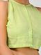 Green Handloom Cotton Blouse