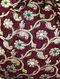Maroon Handcrafted Vintage Brocade Potli
