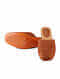 Tan Handcrafted Leather Mules
