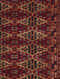 Red-Multicolored Hand Woven Wool Carpet (6 ft.3in x 4ft)