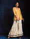 Yellow Handloom Silk Short Kurta with Hand Embroidery