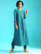 Green Ikat Silk Cotton Kurta