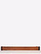Brown Handcrafted Sheesham Wood Towel Rod (L - 19.5in, W - 2in, H - 3.6in)