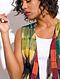 Multicolored Handloom Cotton Cape