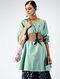 Green Cotton Dobby Tunic