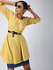 Yellow Cotton Dobby Tunic