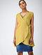 Yellow Cotton Dobby Cape