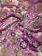 Pink-Green Benarasi Kimkhwab Brocade Fabric