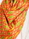 Red-Green Printed Khadi Silk Stole