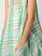 Green Cotton Dress with Lining (Set of 2)