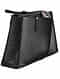 Black Handcrafted Genuine Leather Tote Bag