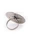 Lapis Lazuli Adjustable Silver Ring
