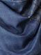 Indigo Khari-printed Mulberry Silk Stole