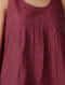 Pink-Green Handloom Cotton Top by Jaypore