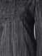 Black-White Handloom Cotton Kurta with Pintucks by Jaypore
