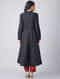 Black Handloom Cotton Angrakha by Jaypore