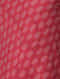 Red-Ivory Handloom Cotton Ikat Dress by Jaypore
