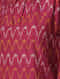 Pink-Ivory Handloom Cotton Ikat Dress by Jaypore