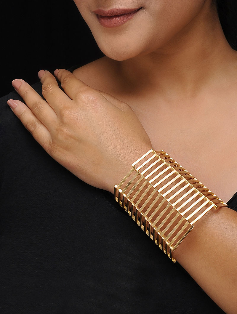 Classiic Gold-plated Adjustable Cuff