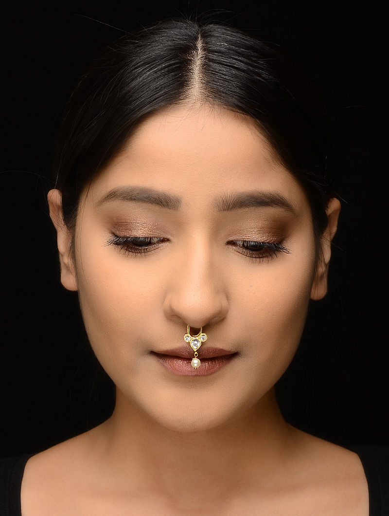 Classic Gold-plated Silver Septum Ring