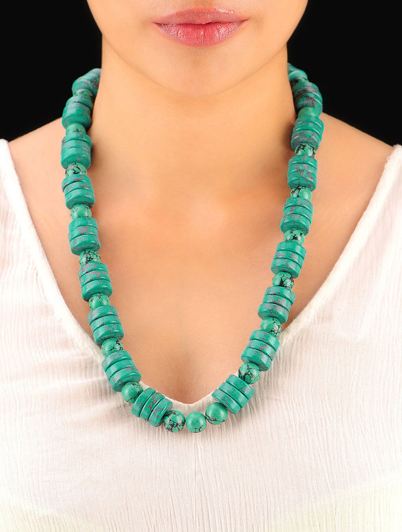 Feroza Hand Beaded Necklace