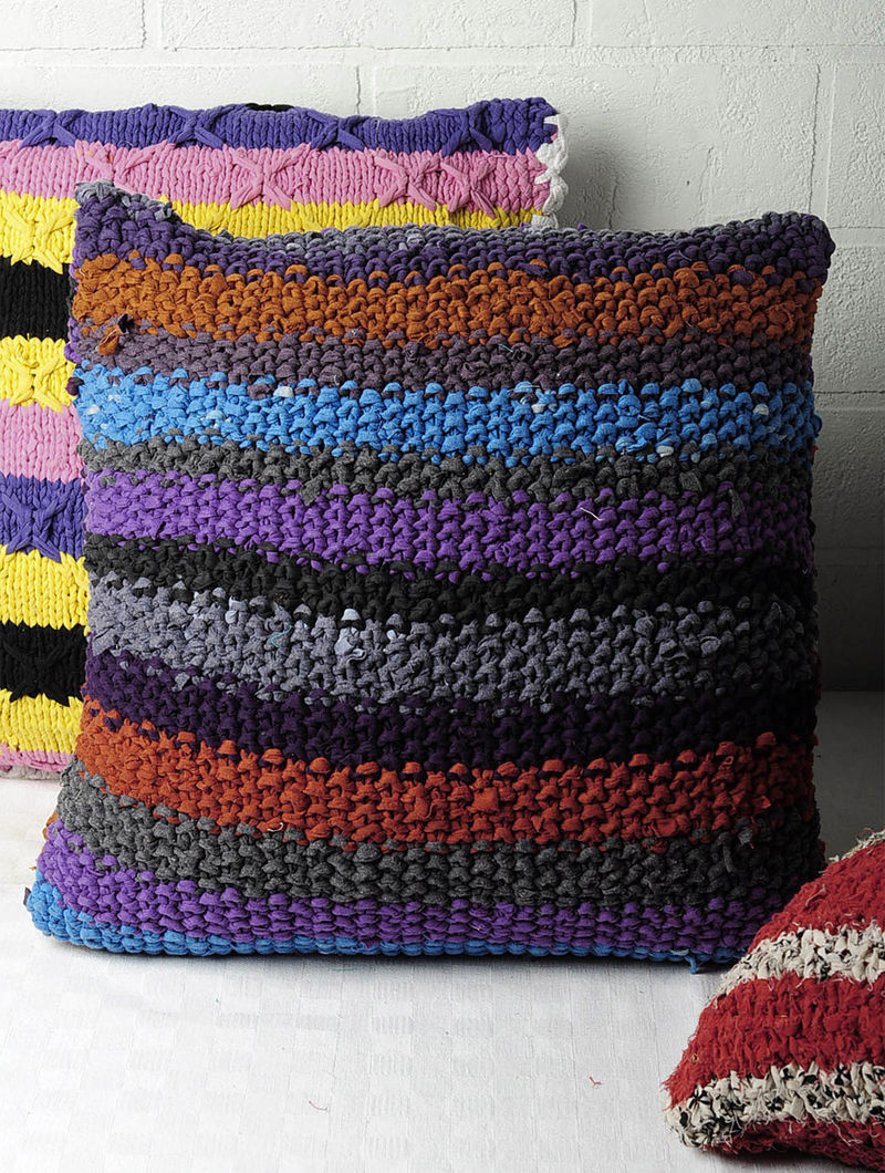 Recycled Cushion Cover 15.5in x 15.5in