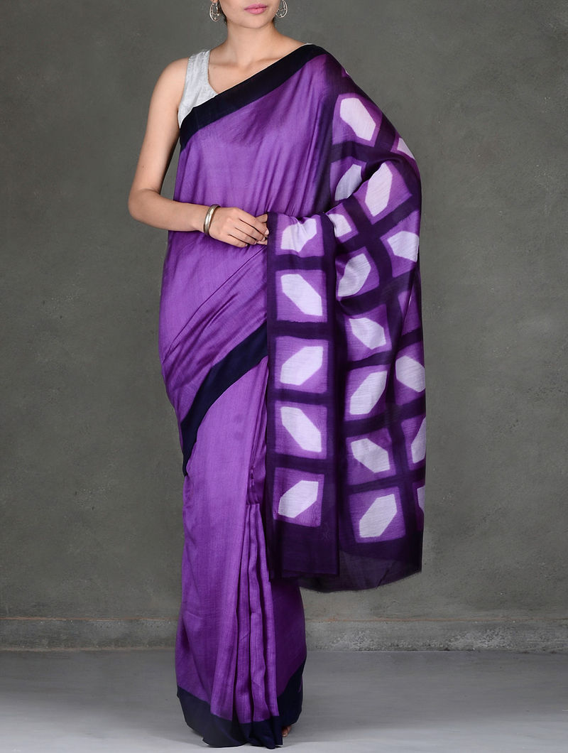 Indian Womens Cotton Silk Style Sari with Blouse Piece SHALIMAAR PINK