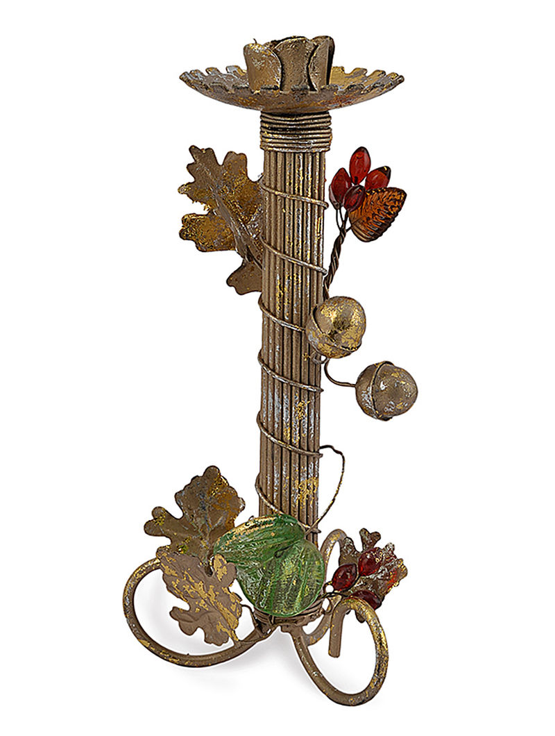 Antique Gold Iron Berries Vine Small Candleholder By The Yellow Door All berries for a berrylicious experience. buy online at jaypore com